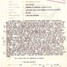 352nd FG Combat mission report, 6 August 1944, Major George E. Preddy