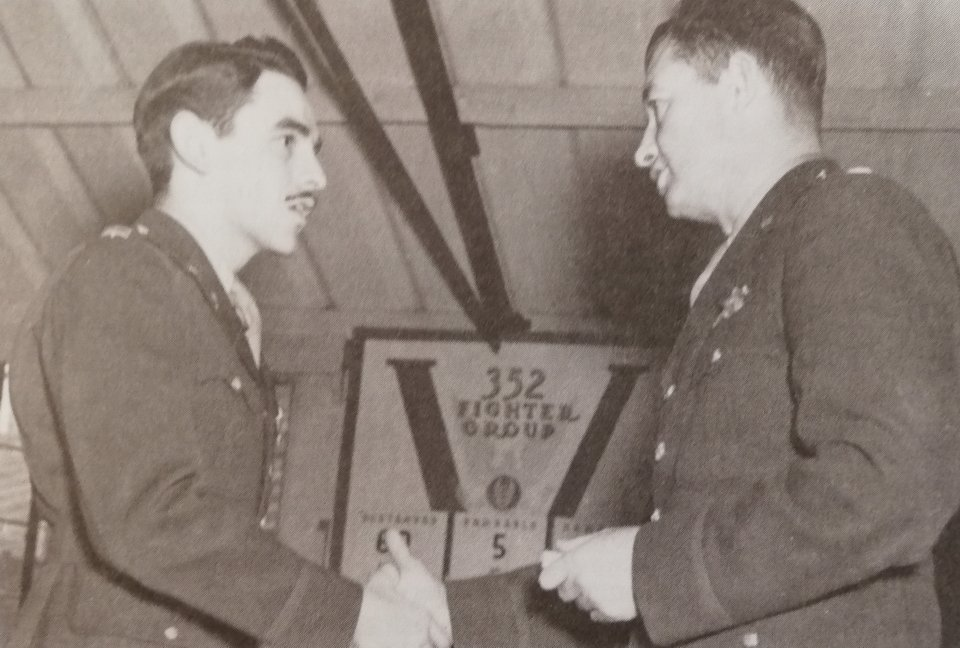 George E. Preddy received the Silver Star for his action on December 22nd, 1943